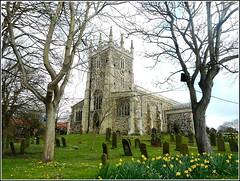 Hornsea Church , (** Janets Photos **) Tags: uk church springtime eastyorkshire hornsea