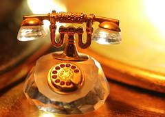 Phone ... Macro Monday (acwills2014) Tags: light macro glass miniature phone telephone tones macromondays