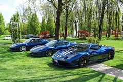 Perfect Trio (Ste Bozzy) Tags: ferrari 360 430 458 speciale scuderia challenge stradale ferrari458 ferrari360 ferrari430 ferrari360cs ferrari360challengestradale ferrari430scuderia ferrari458speciale bluferrari blueferrari supercar combo trio exotic italia italy carsandcoffee carsandcoffeeitaly brescia carsandcoffeeitaly2016 19bozzy92 worldcars
