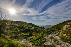 (Skiwalker79) Tags: italy panorama mountains trekking landscape nikon italia hiking montagna marche montefeltro carpegna montecarpegna