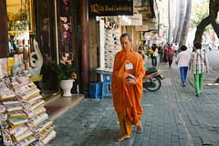 Barefoot In The City (* Hazman Zie *) Tags: zeiss 35mm buddhist sony monk f2 saigon hochiminhcity hcmc sonnar rx1 mirrorless zeisssonnar35mmf2 sonyrx1