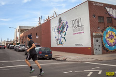Oreo (Always Hand Paint) Tags: nyc illustration brooklyn advertising mural outdoor williamsburg ooh handpaint oreo colossal streetlevel cpg colossalmedia muraladvertising b145 skyhighmurals alwayshandpaint