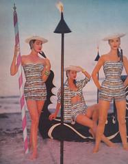 Rose Marie Reid 1956 (moogirl2) Tags: retro vogue 50s 1956 emilio vintageads vintagefashions vintageswimwear vintagevogue rosemariereid 50sfashions