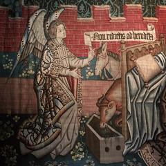 Bernisches Historisches Museum (Kotomi_) Tags: angel swiss bern tapestry bernischeshistorischesmuseum bernhistoricmuseum