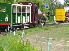 P1050715 (Hampton & Kempton Waterworks Railway.) Tags: loop devon digger galaday 2015 darent modwagon colinswagon