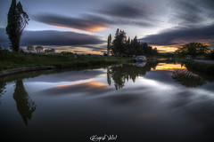 Morning (louigy11) Tags: sunrise canal du midi aude