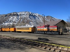IMG_4942 (Autistic Reality) Tags: railroad usa america train us colorado unitedstates silverton unitedstatesofamerica transport landmarks trains landmark transportation co transports durango railroads narrowgauge coloradostate historiclandmark nationalhistoriclandmark dsng westernslope narrowgaugerailroad historiclandmarks nationalhistoriclandmarks stateofcolorado laplatacounty durangoandsilvertonnarrowgaugerailroad rockymountainwest
