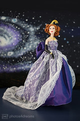 star-gazing: cate blanchett (photos4dreams) Tags: film ball movie toy doll dress barbie makeup disney cinderella gown cateblanchett puppe stepmother kleid ballkleid abendkleid tremaine faceup stiefmutter photos4dreams photos4dreamz p4d dollmakeupartist thenewdressesarrivedp4d