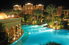 5*Red Sea vacations (werner boehm *) Tags: pool architecture hurghada nighshot makadibay makadipalace wernerboehm