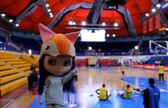 30/04 we went to wonen's basketball (the final of the championship of Russia)