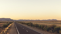 Towards Wilpena Pound (Filippo Pappalardo) Tags: road sunset bush highway australia ranges outback southaustralia flinders goldenhour