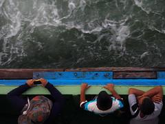 island (roman.gieszczyk) Tags: people water ferry island asia olympus