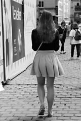 Just walking (Franco & Lia) Tags: vienna wien street blackandwhite austria sterreich noiretblanc biancoenero photographiederue fotografiadistrada 2485f284
