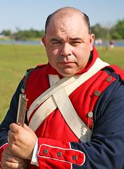 Mexican Soldier (wyojones) Tags: man infantry soldier uniform gun texas rifle houston mexican reenactor texan deerpark texasindependence sanjacintoday sanjacintobattlefieldstatehistoricalpark sanjacintobattlereenactment