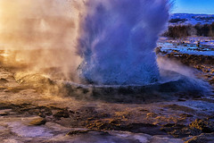 Bloop bloop (Kitonium) Tags: travel winter travelling landscape iceland europe outdoor sony explosion planet lonely lonelyplanet geyser geysir explode boiling icelandic boil 2015 travelgram a7m2 instagram latergram