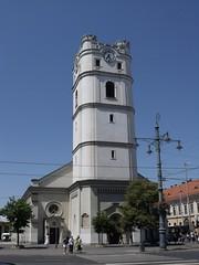 Truncated Church, Debrecen, Hungary (The Broccoli) Tags: church hungary ungarn hungria debrecen ungheria magyarorszg hungra hongarije hongrie  debreczin debretin  debrecin debrezin  debrein debrecn debreczyn