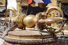 Vajra (Jgunns91) Tags: travel nepal travelling religious temple nikon asia peace buddhism wanderlust explore discover natgeo swayumbhunath