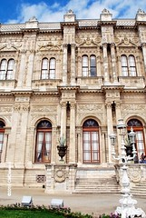2 Dolmabahe Palace (1843-56) (Christopher M Dawson) Tags: travel building tourism architecture turkey istanbul palace international government sultan dawson turkish dolmabahe palace cmdawson 184356 2015 dolmabahe