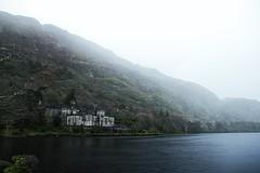 (Nasty P.) Tags: ireland mist lake abbey rain fog raining kylemore