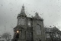 3 of 52 - Through The Window (linlaw39) Tags: building window wet scotland outoffocus meltingsnow weeklytheme fraserburgh northeastcoast 52weeksthe2016edition sonydschx90 week32016 weekstartingfridayjanuary152016 project522016 16012016 16thjan2016
