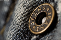 Jeans Button (Stefano-85-) Tags: stilllife macro objects jeans oggetti botton bottone tamron90mmmacro