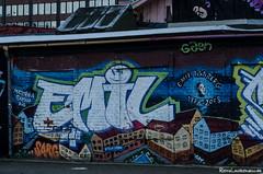 Emil (jukkarothlauronen) Tags: göteborg graffiti nikon sweden gothenburg sverige nikon50mmeseries manualfocusing