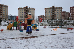 Çayırova'dan Kar Manzaraları 16