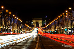 Noel au Champs-lyses (Jose Luis Garcia Tucci) Tags: christmas nightphotography lightpainting paris france catchycolors lights nikon europe flickr nightscape sale fineart noel lp lighttrails fr arcdetriomphe deals champslyses parisbynight longexpousure parisphoto fineartprints nikonphotography jlgarciatucci nikonfr nikond610 europecapitalcities jlgarciatucciphotography