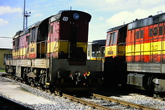 CD CLASS 771 DIESEL LOCOMOTIVE 771026-2 (bobbyblack51) Tags: diesel cd 1999 class depot locomotive plzen 771 7710262