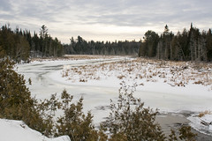 meandering winter (Barbara A. White) Tags: winter ontario canada landscape woodlawn lanarkcounty