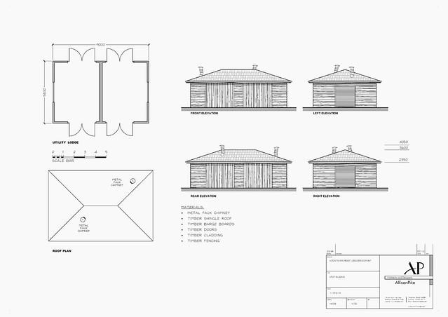 Utility Building Plan