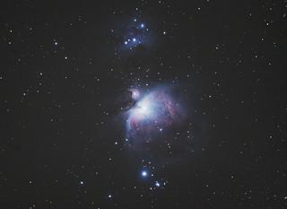 M42 Orion Nebula (W/ Running man nebula)