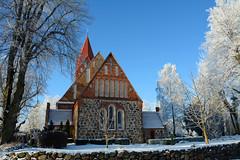 Biestow #1 (victorlaszlo73) Tags: winter sunny sonnig dorfkirche mecklenburgvorpommern biestow