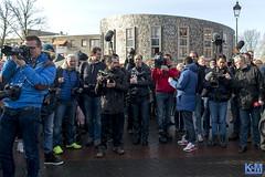 Geert Wilders in Spijkenisse (anat kroon) Tags: market islam nederland markt freedomparty politiek spijkenisse politie geertwilders pvv nikond800 kroonenvanmaanen anatkroon nissewaard verzetsspray