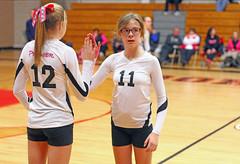 IMG_8799 (SJH Foto) Tags: girls club team sub teenagers teens rotation volleyball favourite substitution tweens u14s