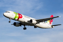 CS-TJG TAP - Air Portugal Airbus A321-