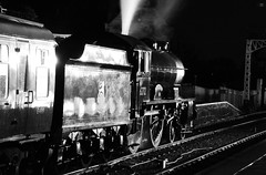 NVR 563bwcr (kgvuk) Tags: nightphotography station trains railwaystation locomotive railways 440 steamtrain steamlocomotive morayshire nvr wansford nenevalleyrailway d49 62712 wansfordrailwaystation