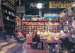 Down Memory Lane (pefkosmad) Tags: jigsaw puzzle leisure hobby pastime downmemorylane houseofpuzzles shirescollection shop shopping inside interior scotland missing piece