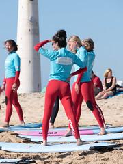 Fuerteventura 2015-2016 (cancom) Tags: ocean girls spain meer fuerteventura mdchen spanien wellenreiten jandia surfriding