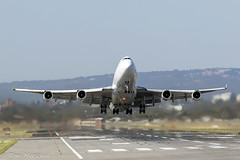Lift off! (Tom Marschall) Tags: plane mas airport aviation malaysia adelaide boeing airlines mh 747 747400 adl 747400f kargo 9mmpr b744f ypad
