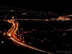 Highway in the night (gjaviergutierrezb) Tags: cars night lights humboldt highway tenerife canaryislands carlights puertodelacruz laorotava speedlights tenerifenorth