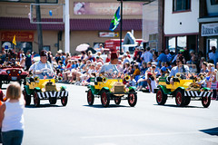 LoggerRodeo 2015 (rpkarsen) Tags: usa tractor washington hometown flag echo documentary chainsaw logging carving parade american rodeo logger pnw journalist lumber johndeere stihl dewalt woolley sedrowoolley sedro