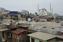DSC_1529 (zeynepcos) Tags: city bridge roof building architecture outdoor istanbul mosque bosphorus galata karakoy suleymaniye eminonu tahtakale bykvalidehan