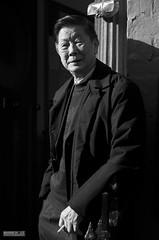 The Cigarette Break (Mark Holt Photography - 4 Million Views (Thanks)) Tags: portrait blackandwhite bw liverpool chinatown chinesenewyear newyear yearofthemonkey nelsonstreet