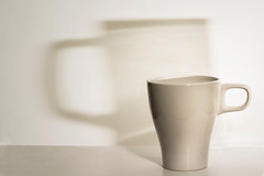 transparent projections (Flavio~) Tags: lighting shadow white home cup studio tabletop productphotography speedlights
