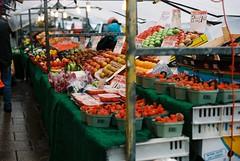 09 Fruit and veg, Otley market (I  Minox) Tags: film kodak om1 olympusom1 100asa otley ektar c41 2015 om1n olympusom1n kodakektar kodakektar100 ektar100 otleymarket