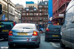 Skoda Octavia + Peugeot 3008 Glasgow 2016 (seifracing) Tags: cars car scotland cops traffic glasgow taxi transport scottish police voiture vehicles british peugeot spotting recovery strathclyde skoda octavia 3008 2016 seifracing