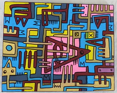 Tarek's painting (Pegasus & Co) Tags: urban streetart art collage painting skulls drawing contemporaryart collages lifestyle drawings dessin hype beautifulcolors bd artcontemporain dessins artistes  urbain tarek