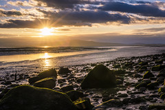 Sunset Over Criffel (TrotterFechan) Tags: sunset newbie criffel solwayfirth