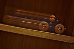 Downhill (Pztryk) Tags: blur car speed toy zabawka prędkość autko